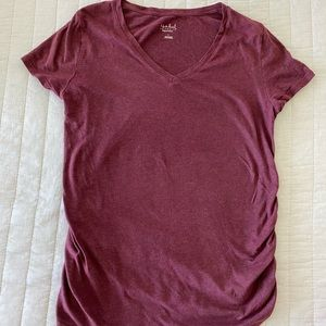 Maternity V-Neck T-Shirt